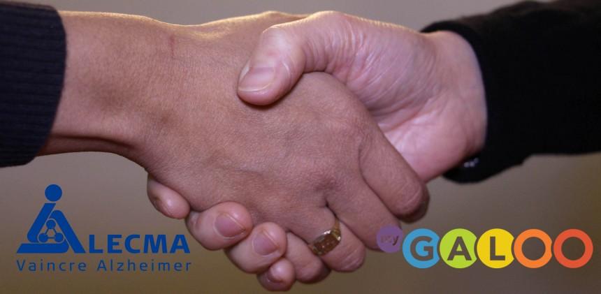 LECMA-Vaincre Alzheimer s'associe à MyGaloo pour vaincre Alzheimer !