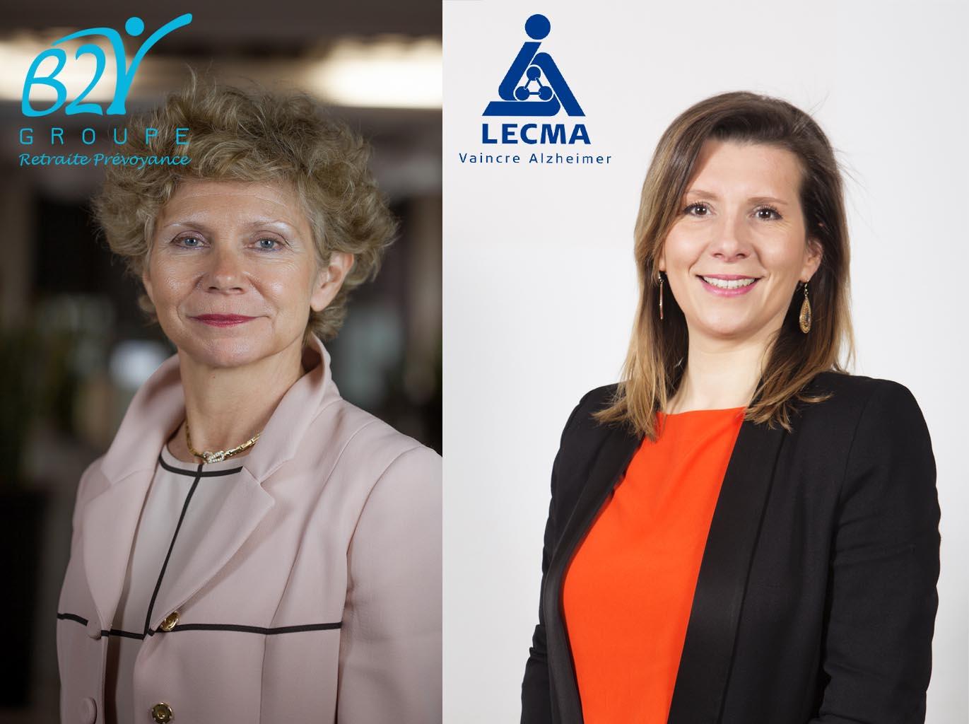 Groupe B2V et LECMA-Vaincre Alzheimer