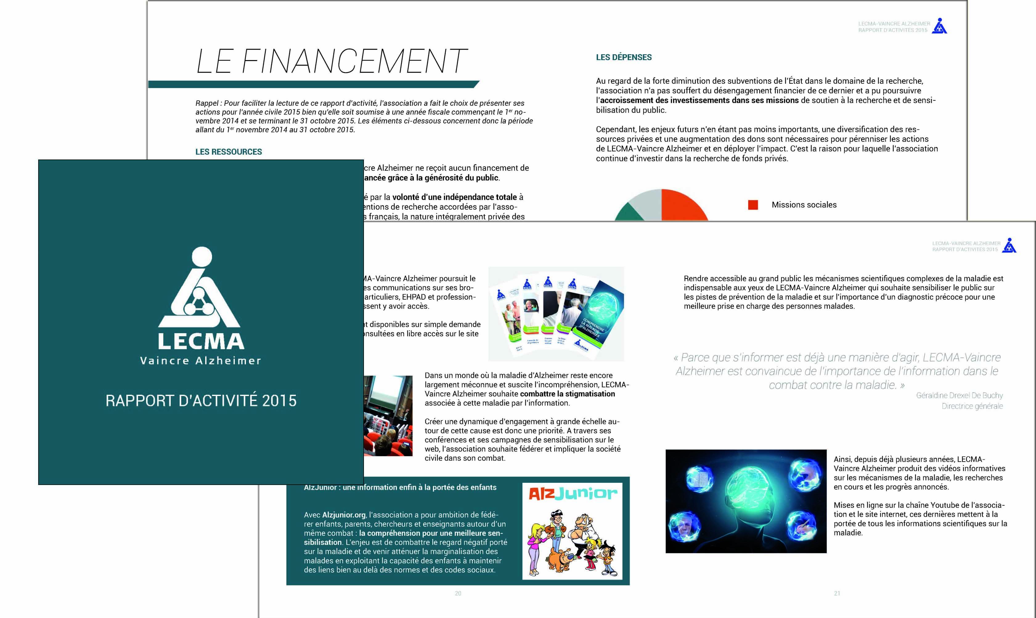 rapport d'activité 2015