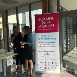 En images : visite de laboratoire du Dr Claeysen à l'occasion de la Journée mondiale Alzheimer 2018