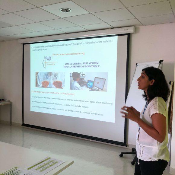 Dr Panchal présente la Fondation Vaincre Alzheimer et ses missions