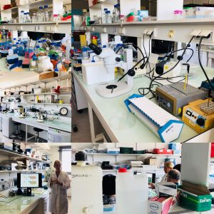 Le matériel utilisé par les chercheurs