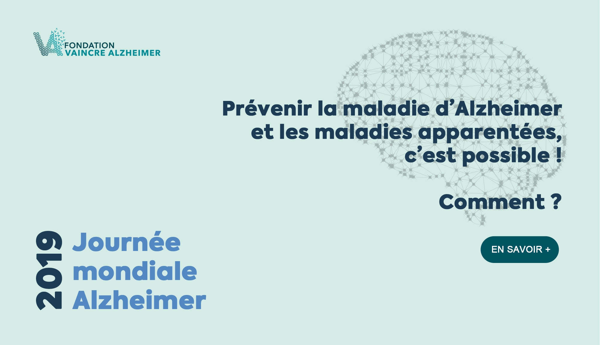 Journée mondiale Alzheimer 2019