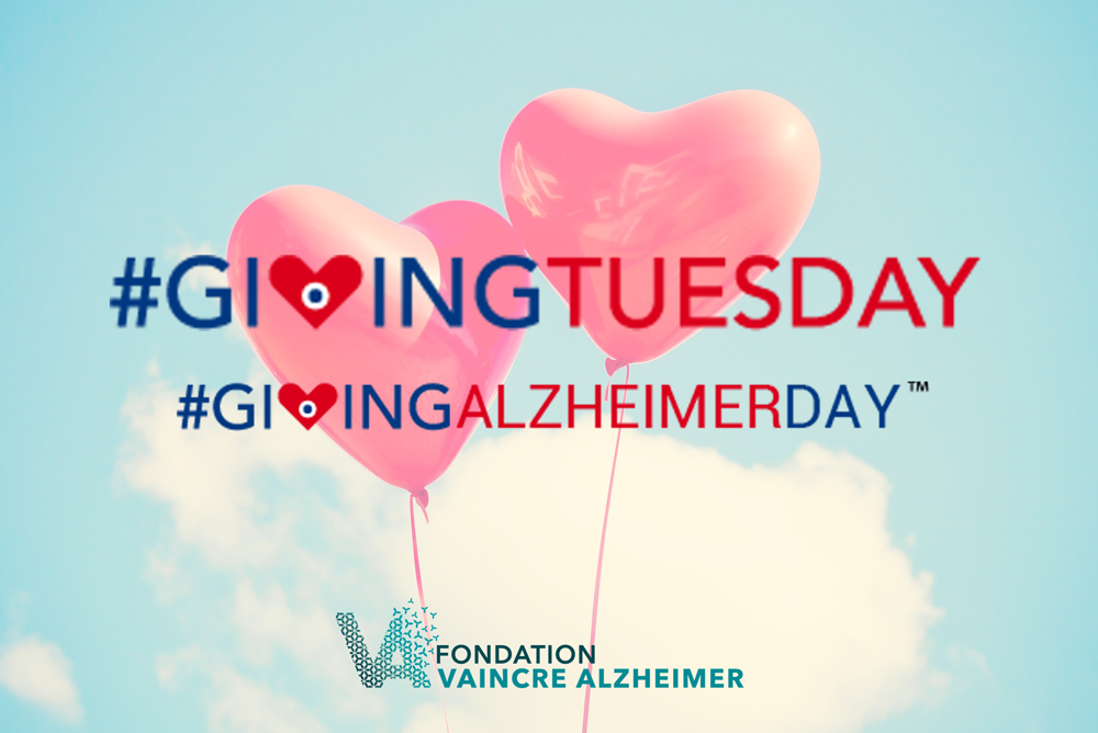 Giving Alzheimer Day avec Fondation Vaincre Alzheimer