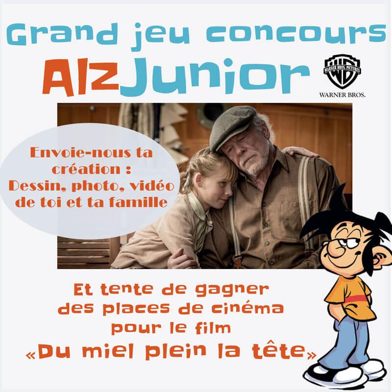 Grand jeu concours AlzJunior