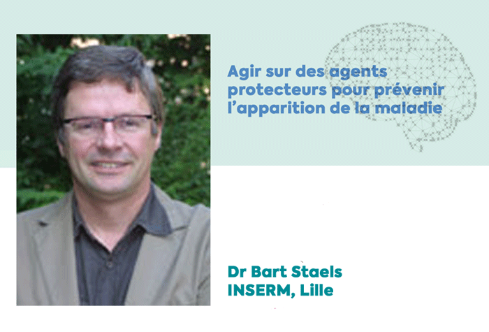 Bart Staels, lauréat d'une subvention de la Fondation Vaincre Alzheimer