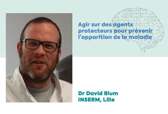 Dr David Blum, lauréat de la Fondation Vaincre Alzheimer