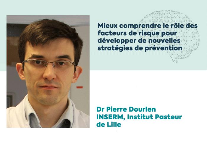 Dr Pierre Dourlen, lauréat d'une subvention de la Fondation Vaincre Alzheimer