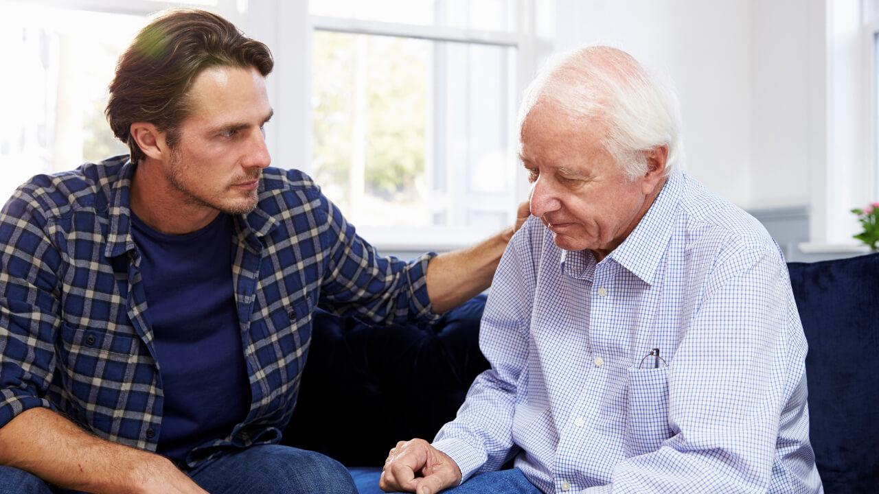 Vivre avec une personne malade Alzheimer